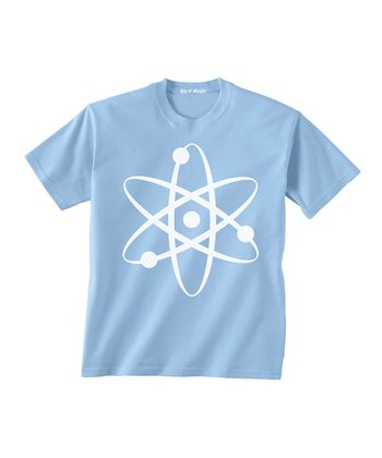 Skip N' Whistle Light Blue Atom Tee - Toddler & Boys