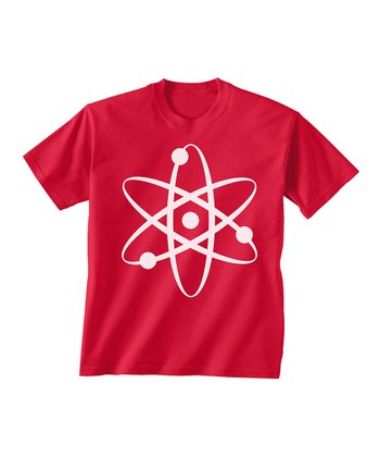 Skip N' Whistle Red Atom Tee - Toddler & Boys