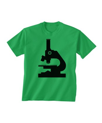 Skip N' Whistle Green Microscope Tee - Toddler & Boys