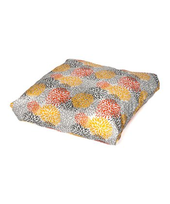 Citrus Bloom Indoor/Outdoor Floor Pillow