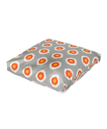 Ikat Domino Indoor/Outdoor Floor Pillow