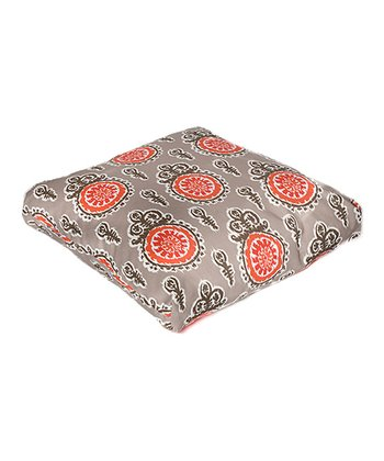 Salmon Michelle Indoor/Outdoor Floor Pillow