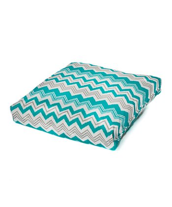 Pacific Zigzag Indoor/Outdoor Floor Pillow