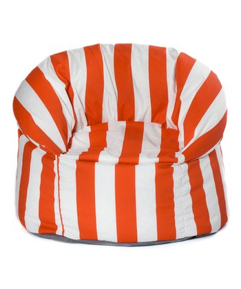 Orange Cabana Outdoor Mushroom Chair