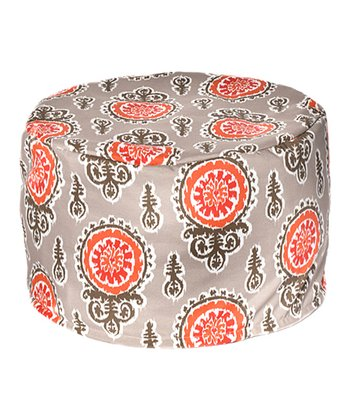 Salmon Michelle Outdoor Pouf