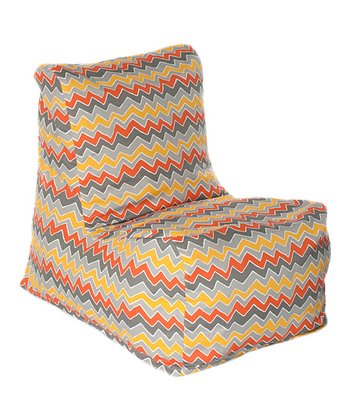 Citrus Zigzag Outdoor Chair