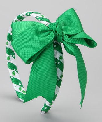 Pink Laundry Shamrock Braided Headband