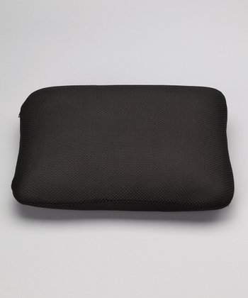 Black Classic Memory Foam Mini Travel Pillow
