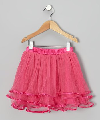 Hot Pink Tutu - Toddler & Girls