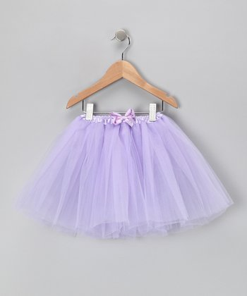 Lavender Bow Tutu Set - Toddler & Girls