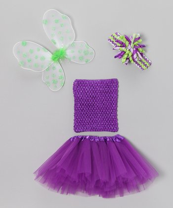 Purple Wing Tutu Set - Infant