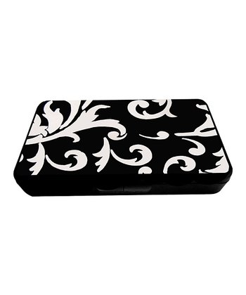 Black & White Damask Wipe Case