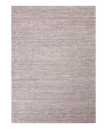 Gray Elements Wool Rug