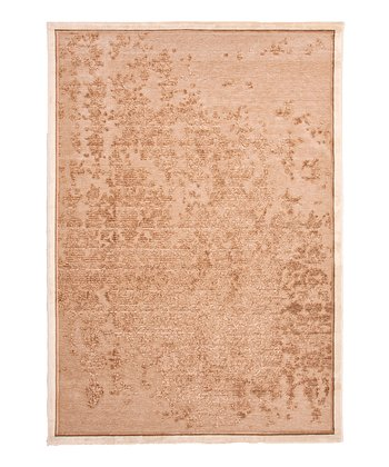 Light Brown & Sand Vine Rug