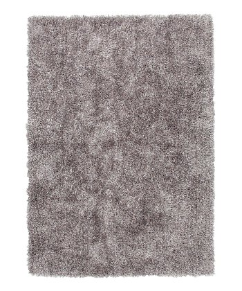 Dark Gray Shag Rug