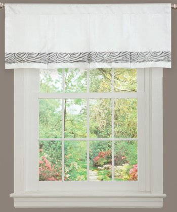 Gray Urban Savanna Valance