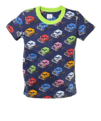 Navy Jalopy Rig Tee - Toddler & Kids
