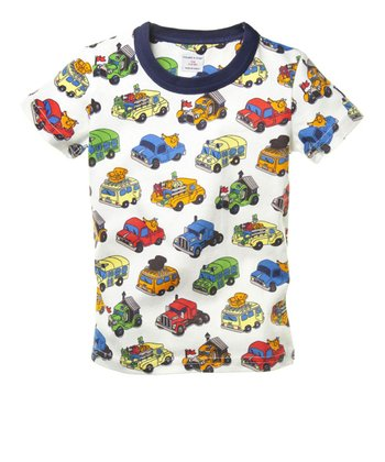 White Jalopy Rig Tee - Toddler & Kids