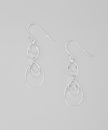 Sterling Silver Mobile Drop Earrings