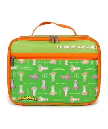 Green 'I'm Wheat Gluten Free' Lunch Bag