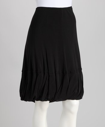 Black Bubble Skirt