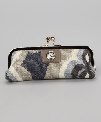 Gray & Cream Miss Billie Clutch