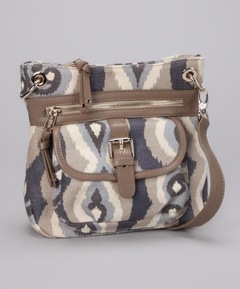 Gray & Cream Miss Billie Crossbody Bag