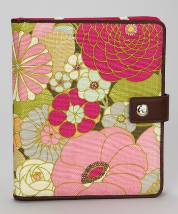 Citrus & Magenta Camellia Case for iPad