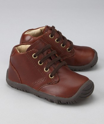 Brown Cyclone Derby Shoe