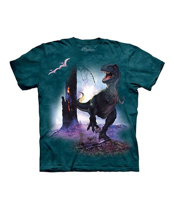 Green T-Rex Tee - Toddler & Kids