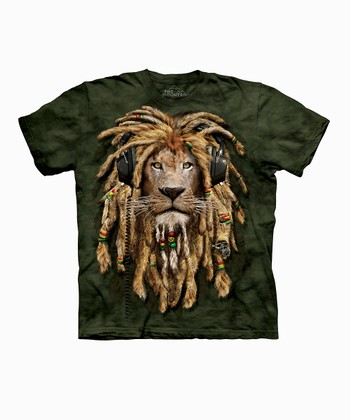 Green DJ Jahman Tee - Toddler, Boys, Men & Plus