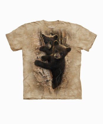 Tan Curious Cubs Tee - Toddler, Kids, Adult & Plus