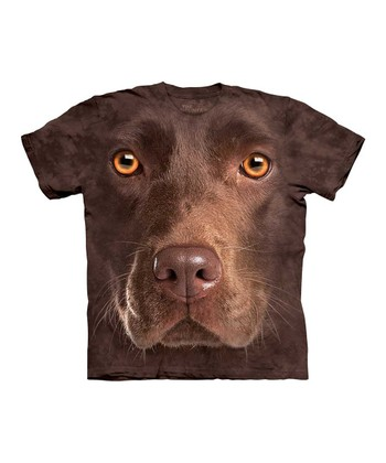 Brown Chocolate Lab Tee - Kids