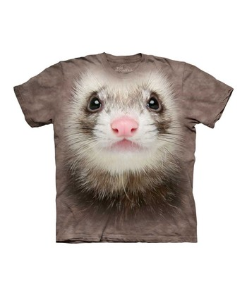 Tan Ferret Face Tee - Toddler & Kids