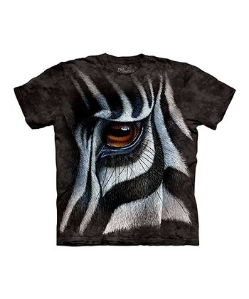 Black Zebra Eye Tee - Toddler & Kids
