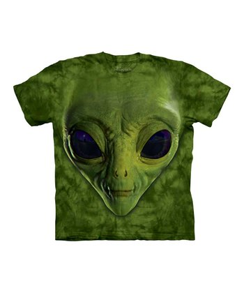 Green Alien Tee - Toddler & Kids