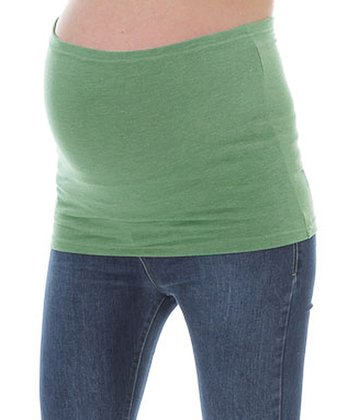 Green Maternity Belly Band