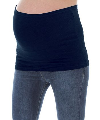 Navy Maternity Belly Band