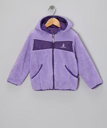Lavender Reversible Jacket - Girls