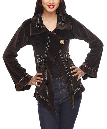 Chocolate Spiral Jacket