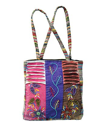 Pink & Purple Patchwork Tote