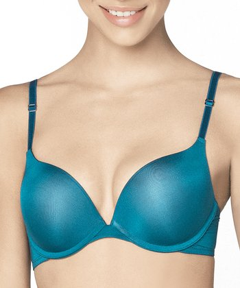 Teal Ladder-Strap Bra - Women