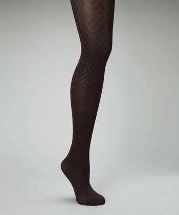 Marrone Scuro Opaque Tights