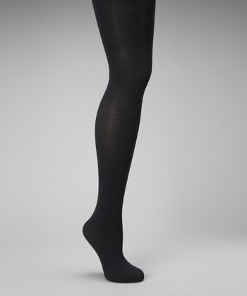 Grigio Opaque Merino-Blend Tights