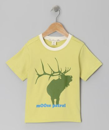 Linden Green 'Moose Patrol' Tee - Toddler & Kids