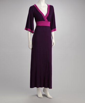 Purple Vivianne Maxi Dress