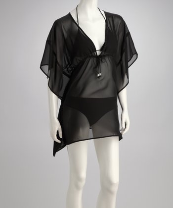 Black Sheer Kai-Lani Cover-Up