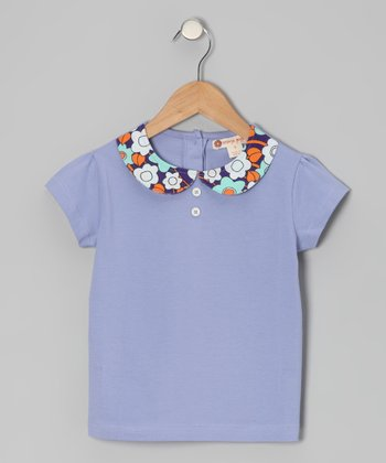 Persian Violet Top - Toddler & Girls