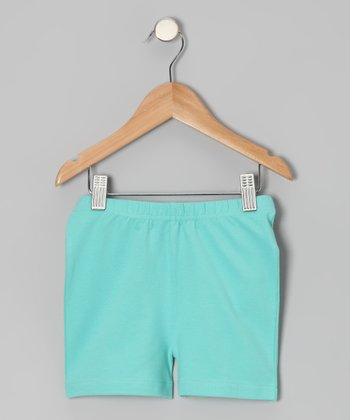 Pool Blue Shorts - Toddler & Girls