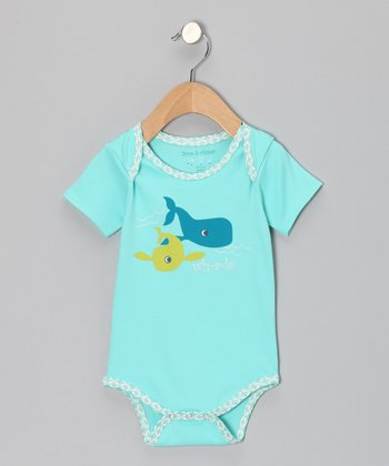 Pool Blue Whale Bodysuit - Infant